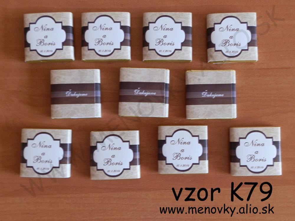 cokoladky pre hosti - malicke - Obrázok č. 1