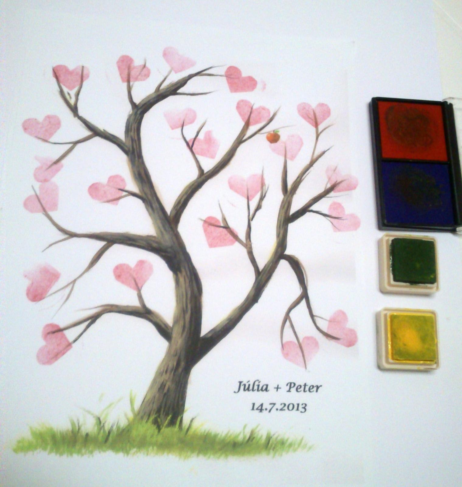 svadobny strom priania - Obrázok č. 4