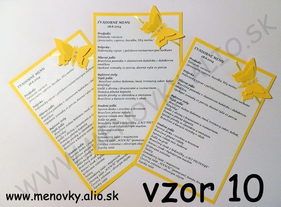 svadobne menu - Obrázok č. 1