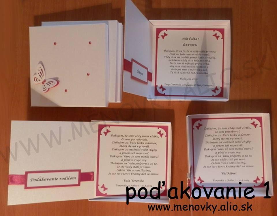 podakovanie pre rodicov v krabicke - Obrázok č. 3