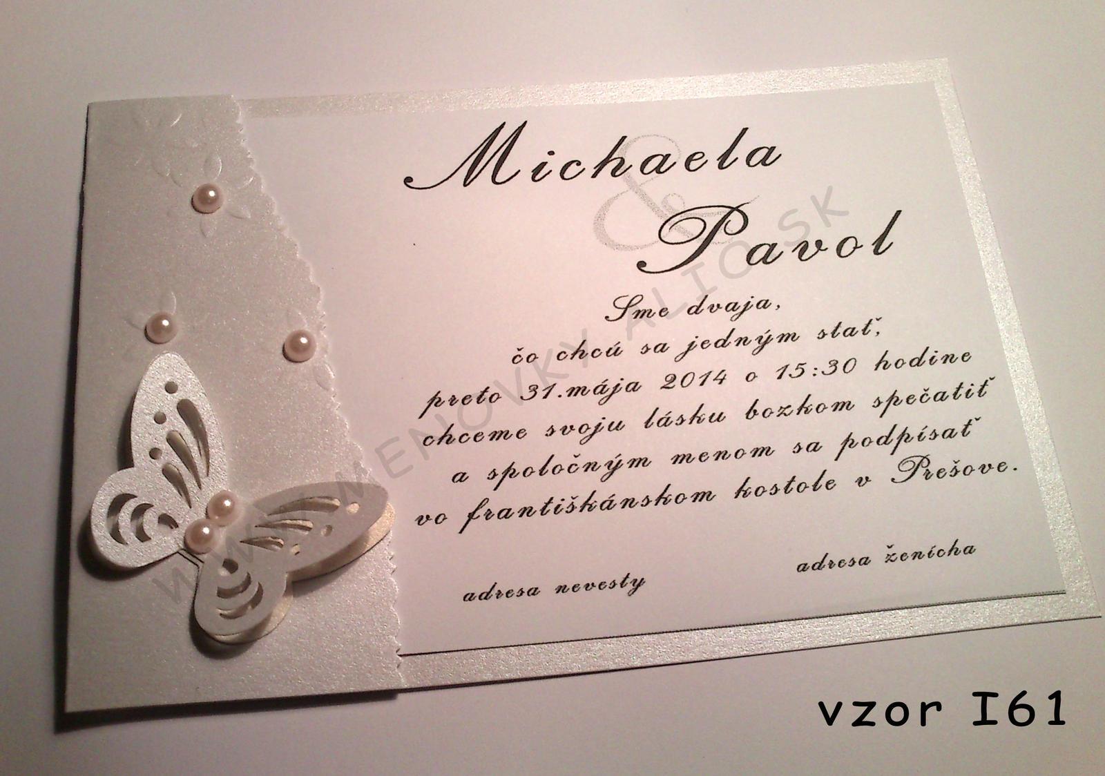 svadobne luxusne oznamenie  - Obrázok č. 2