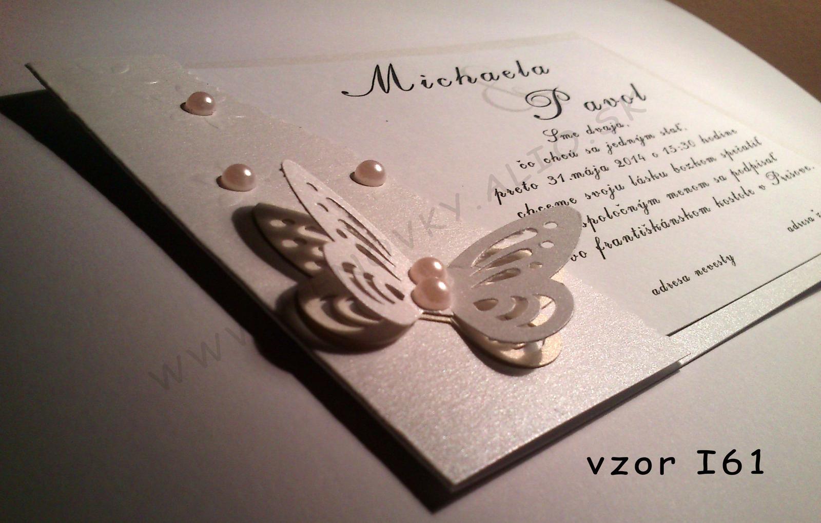 svadobne luxusne oznamenie  - Obrázok č. 3