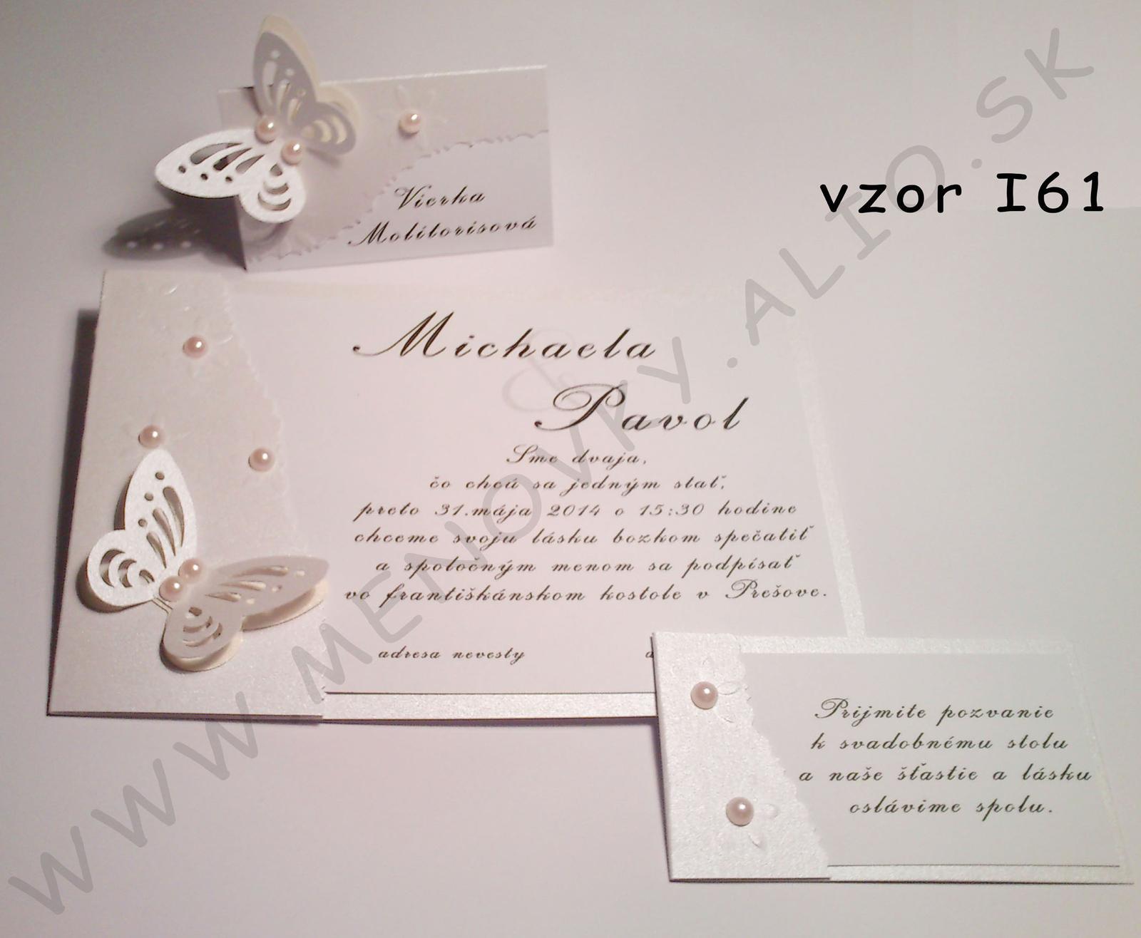 svadobne luxusne oznamenie  - Obrázok č. 1