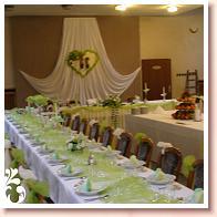 Peťo a Lucia - svadobný stôl asi tak .......