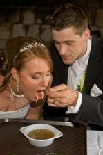 knedlíčková polévka z plastové misky :-)