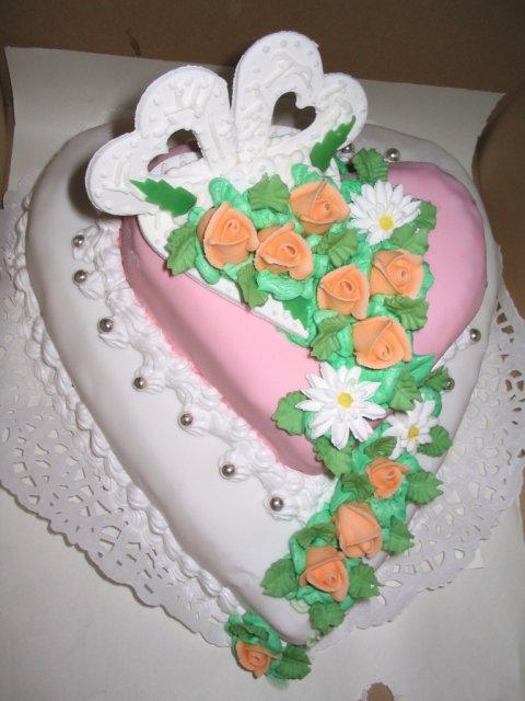Moje vsetky inspiracie... - nasa torticka od mojich rodicov, bola krasna a vynikajuca