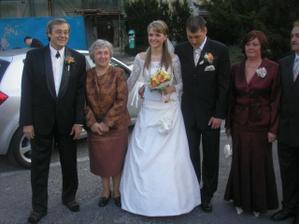 A tu je momentka spolu s rodicmi