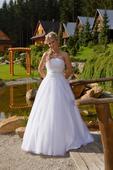 svatební šaty vel. 38, 38