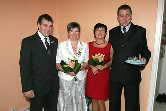 moji rodiče, ženichova maminka a její přítel