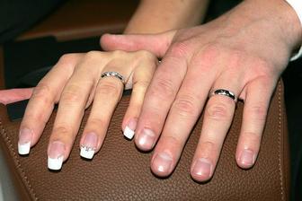 naše prstýnky ...