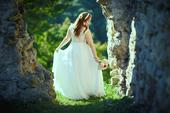 Boho svadobné šaty, 38