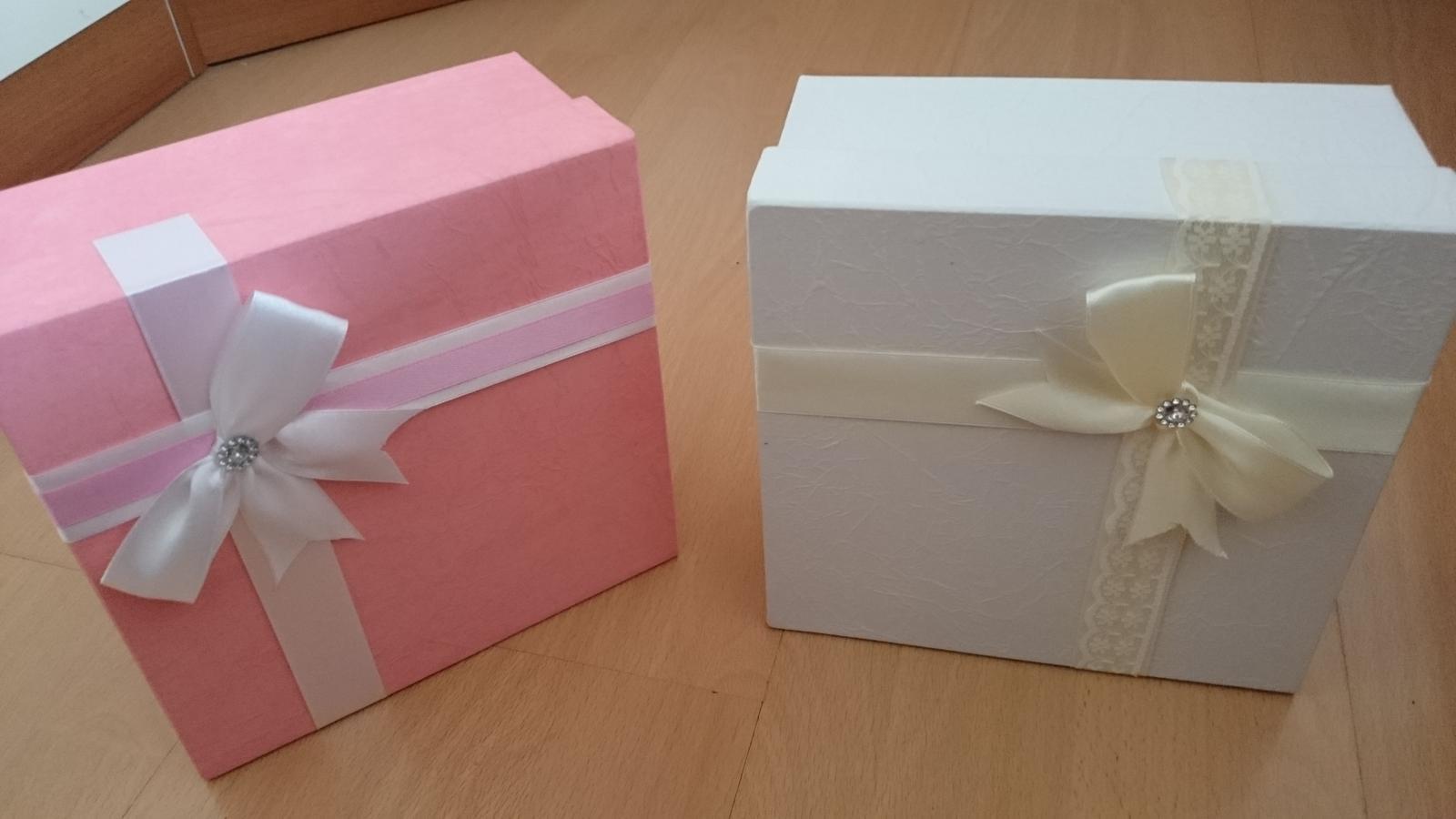 Prípravy :-) - Krabičky na výslužky