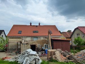 nová střecha,konečně