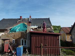 Dům byl bohužel promáčený až do základu