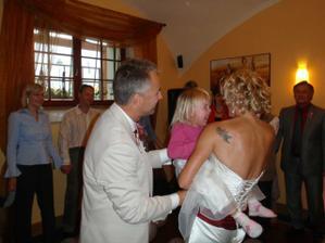 Tanec novomanželů ve třech :-)