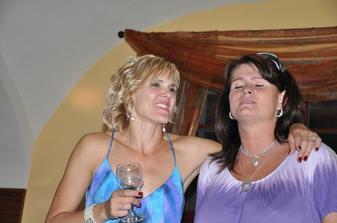 popůlnoční duet se Simonkou :-)