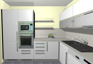 návrh kuchyňky