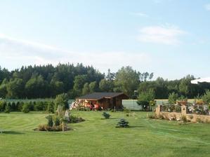 zahrada - červenec 2009