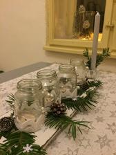 A v kuchyni je výzdoba bílá :)