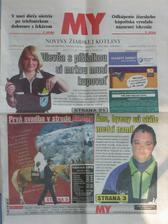 My Noviny Ziarskej kotliny 6.6.2006, Titulka