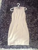 Krémové šaty Orsay vel. S, 34