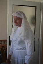falešná nevěsta Jiřinka