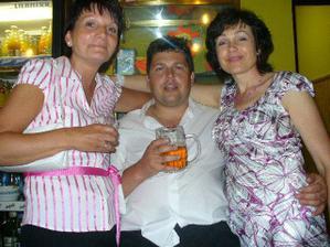Markovi milé tety Jitka a Dáša