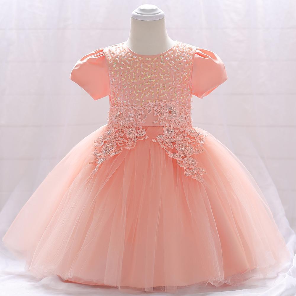 Šaty pre malé princezničky (74 - 98) - detské šaty L1865XZ (74 - 98) cena 23,90 €