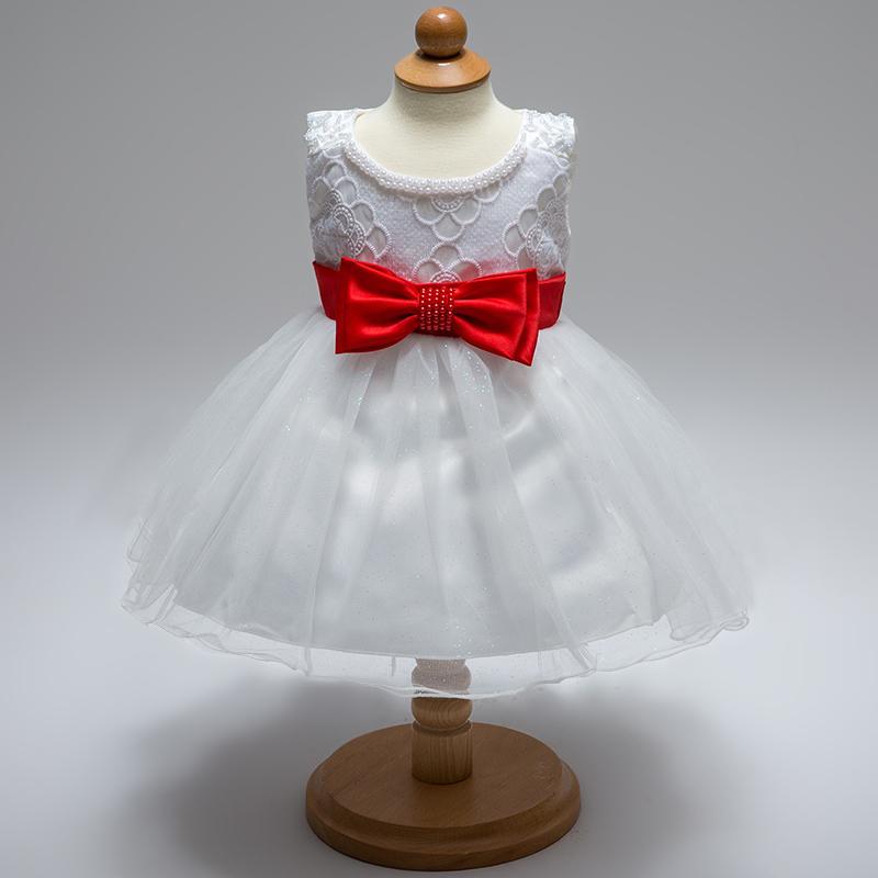 Šaty pre malé princezničky (74 - 98) - Detské šatočky L1833XZ - biele (74 - 92) cena 25,90 €