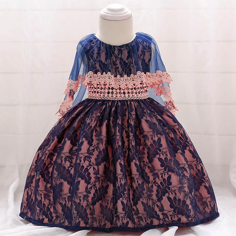 Šaty pre malé princezničky (74 - 98) - Detské šaty L1852XZ (74 - 98) cena 12,90 €
