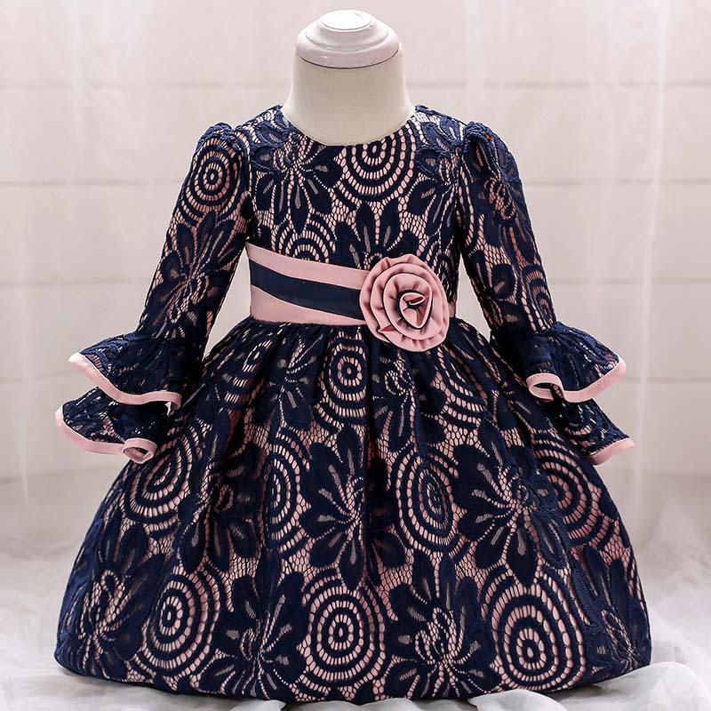 Šaty pre malé princezničky (74 - 98) - Detské šaty L1858XZ (68 - 98) cena 23,90 €