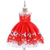 Detské vianočné šaty SD036B (98 - 146) cena 21,90 €