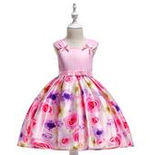 kvetované šaty L567 (98 - 134), 98