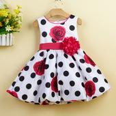 Detské šaty L1232XZ - skladom, 98