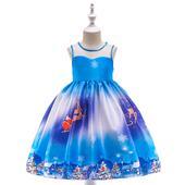 Detské vianočné šaty SD035A (98 - 146), 116