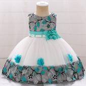 Detské šaty L5045XZ - skladom, 86