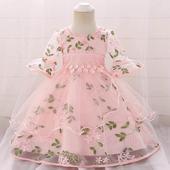 Detské šaty L5015XZ - skladom, 80