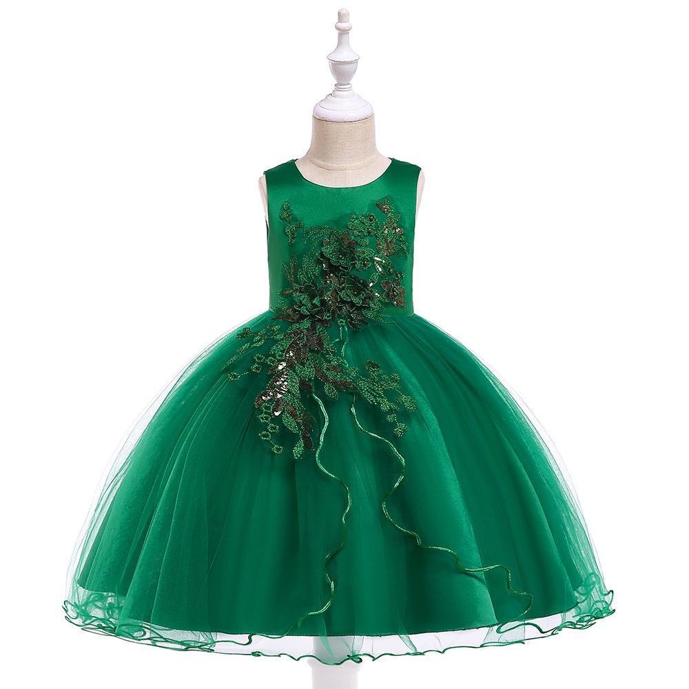 Detské šaty L5060 - skladom - Obrázok č. 1