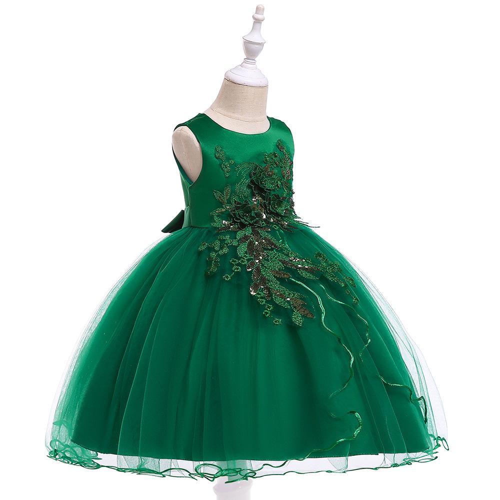 Detské šaty L5060 - skladom - Obrázok č. 2