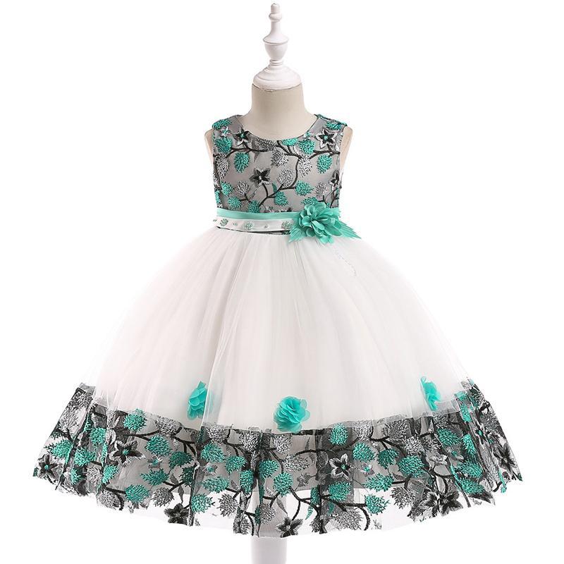 Detské šaty L5045 - skladom - Obrázok č. 1