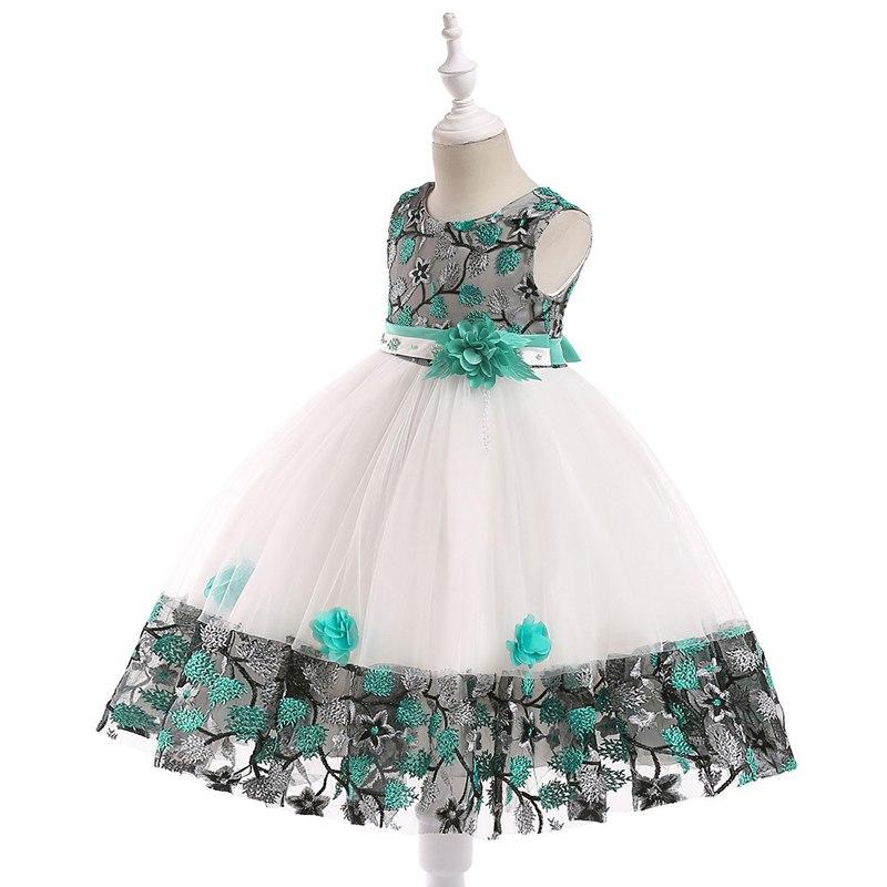 Detské šaty L5045 - skladom - Obrázok č. 2
