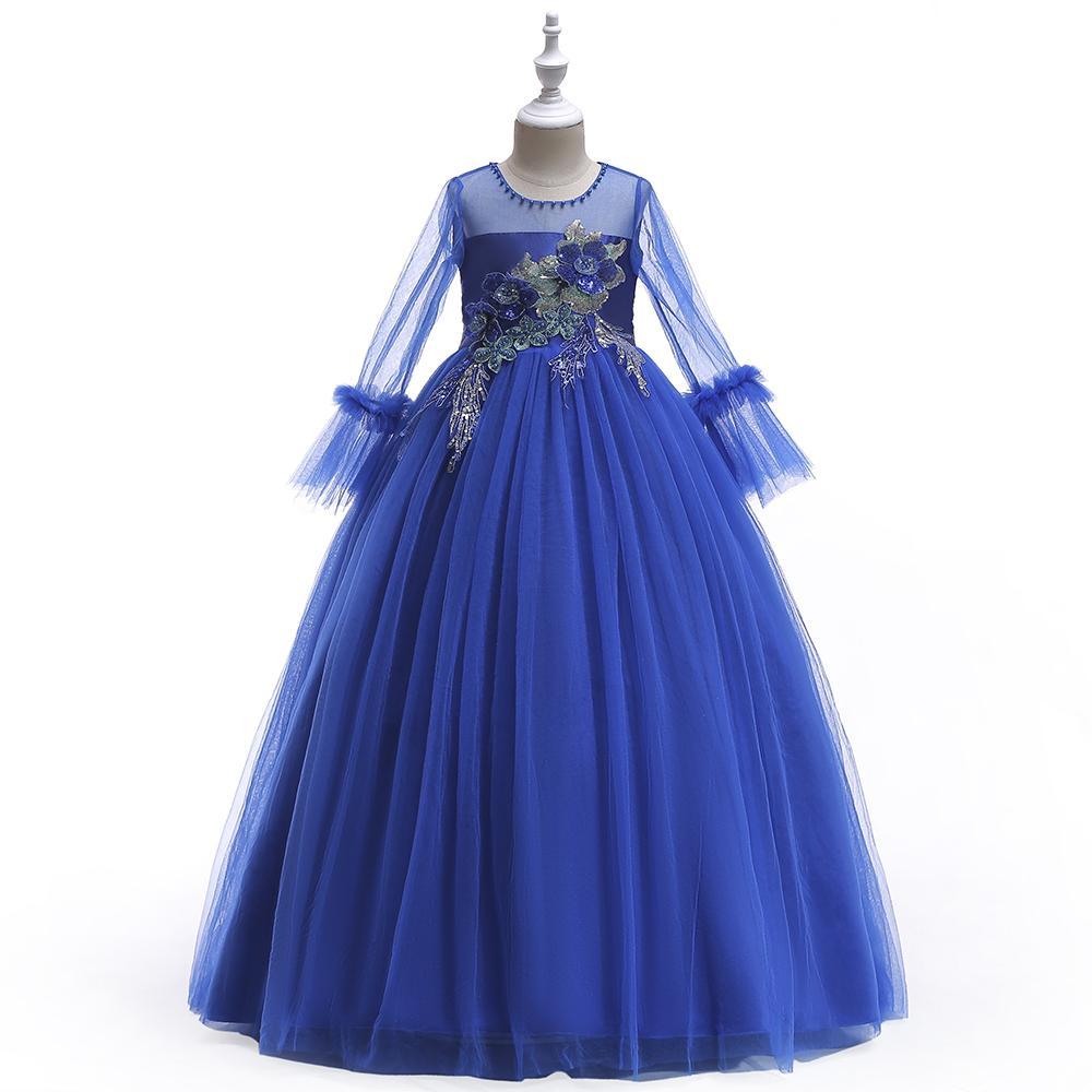Detské šaty LP215 - skladom - Obrázok č. 1