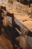 Vintage/Rustikalna ozdoba na stoličky ,