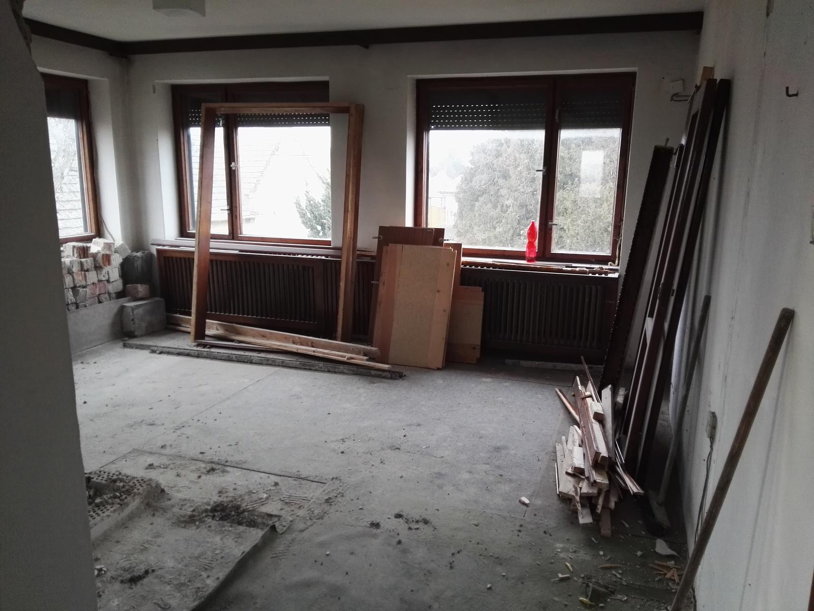 Rekonstrukcia RD - Kuchyňa s jedalňou (niekedy v budúcnosti)