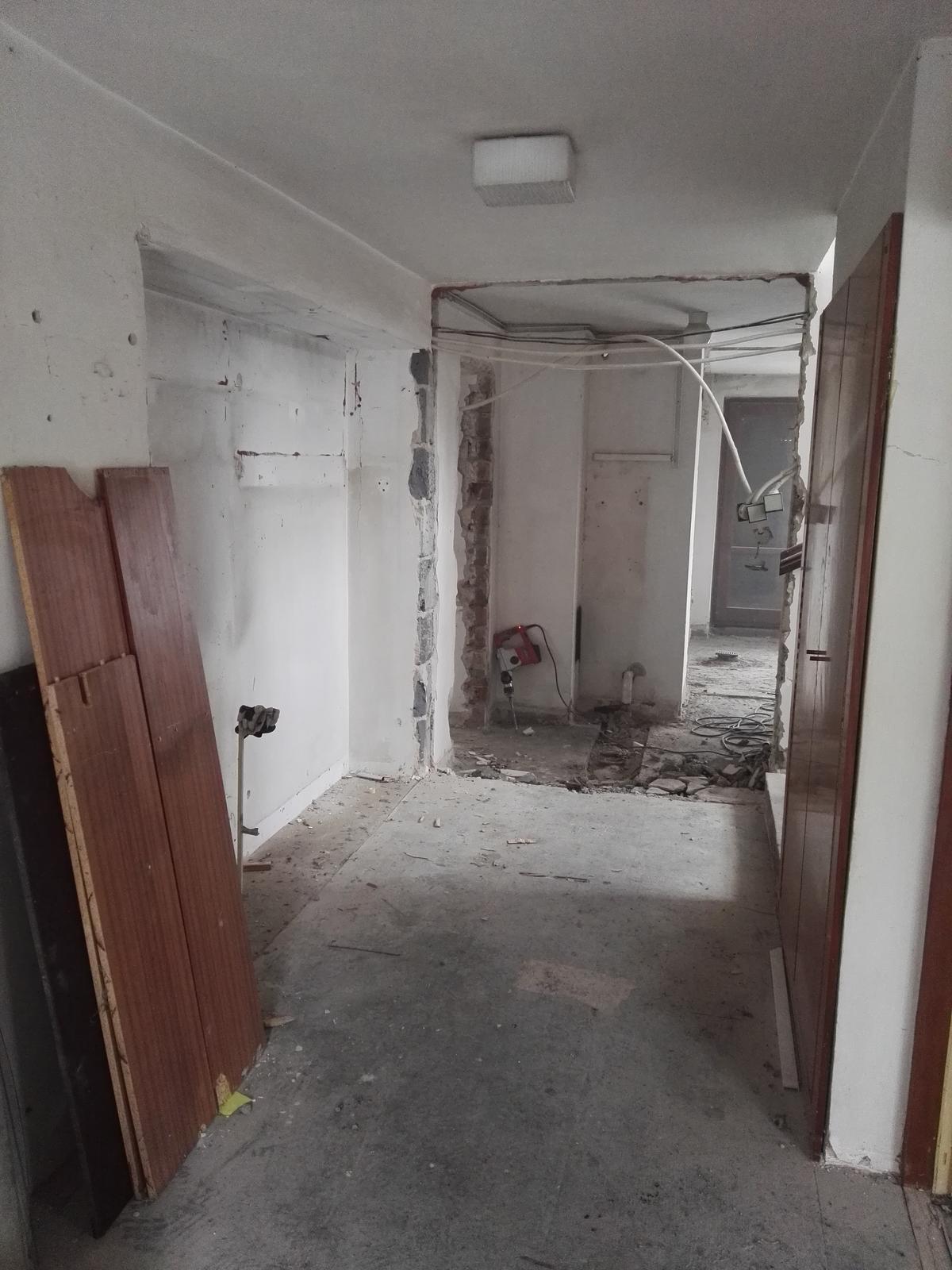 Rekonstrukcia RD - Roldor demontovaný