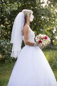 Korzetové svatební šaty, 36