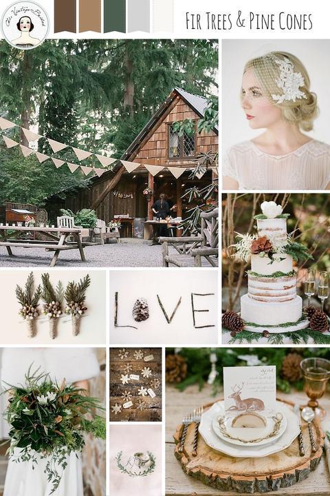 ♥M+P♥ Přípravy - Barvy naší svatby PŘÍRODNÍ :-)