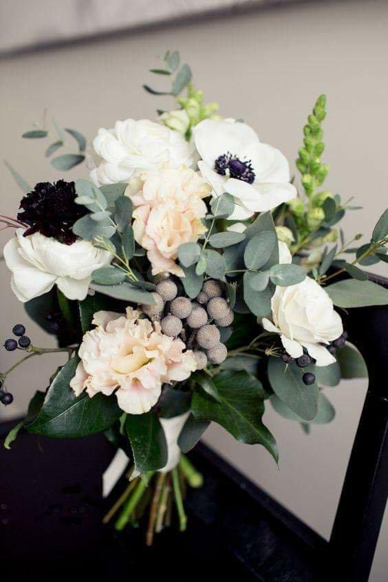 ♥M+P♥ Přípravy - Představa svatební kytice, moje floristka řekla že to nebude problém :-)