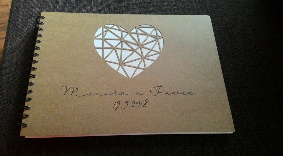 ♥M+P♥ Přípravy - Svatební kniha, hosté budou vkládat fotky z polaroidu a nechávat nám vzkazy :-)