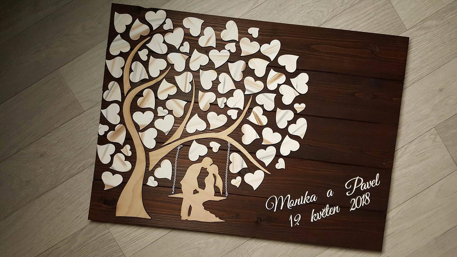 ♥M+P♥ Přípravy - Náš svatební strom ♥